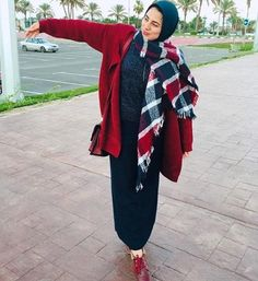 Pinterest: @Locamente Sub for more Hijab outfits