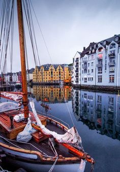 Alesund Bay Photo by Amir Cooper — National Geographic Your Shot