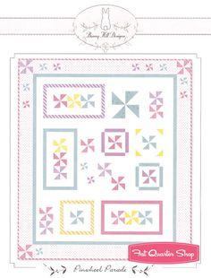 Bunny Hills Pinwheel Parade Quilt Pattern Bunny Hill Designs