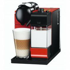 NESPRESSO - Lattissima Coffee Machine Red