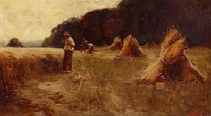-The Harvesters. Leon Augustin Lhermitte