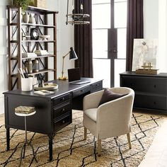 Browse home office furniture and find stylish office decor and furniture today! Shop home office furniture at Ballard Designs. Home Office Design, Office Decor, Office Art, Office Ideas, Grey Wall Art, Hanging Light Fixtures, Home Office Furniture, Space Furniture, Ballard Designs