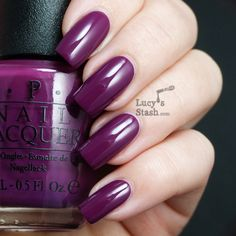 Lucy's Stash - OPI Anti-bleak...love this color