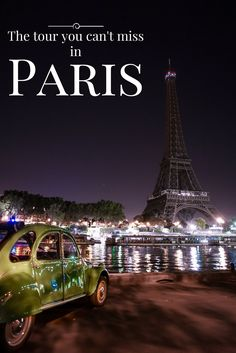 This is the best and most unique tour you can take in Paris!