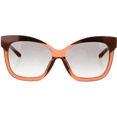5fd80bc22fb Pre-owned Suno x Linda Farrow Oversize Cat-Eye Sunglasses ( 125) ❤