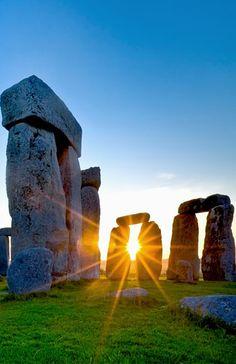 Sunrise, Stonehenge, England