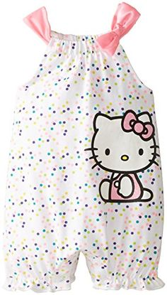 Hello Kitty Baby Baby-Girls Newborn Knit Romper with Bow, Multi, 0-3 Months Hello Kitty http://www.amazon.com/dp/B00Q02MI7A/ref=cm_sw_r_pi_dp_eTymvb19JNEA4