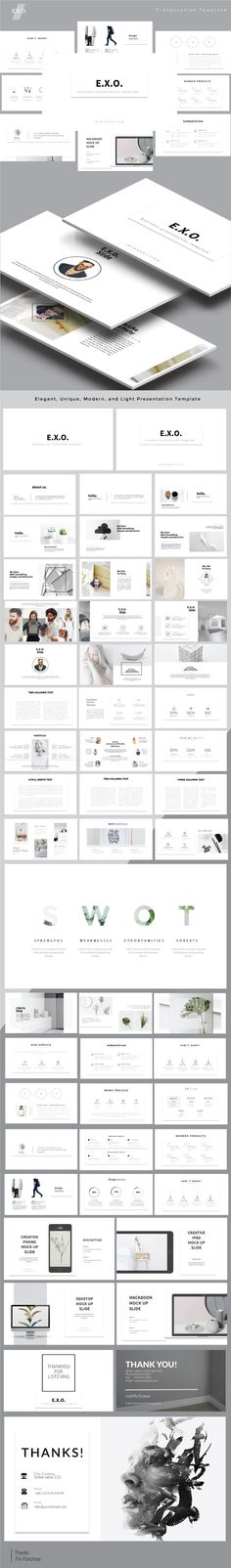 E.x.o. Keynote Presentation Templates - #Keynote #Templates #Presentation Templates Download here: https://graphicriver.net/item/exo-keynote-presentation-templates/19578580?ref=alena994