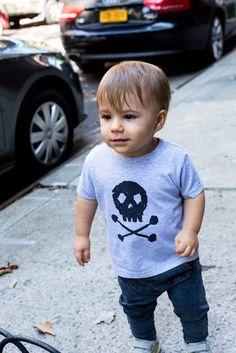 Skull & Bones T-Shirt from Cocoa & Hearts