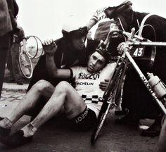 1966 Tour of Flanders - Eddy Merckx in trouble