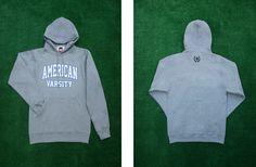 AMERICAN VARSITY  Basic Hoodie   available online store  http://www.avarsityshop.com/   #AmericanVarsity #Basic #Hoodie #AmericanCasual #USA #College #Fashion