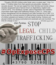 Expose cps for what it is, child abuse