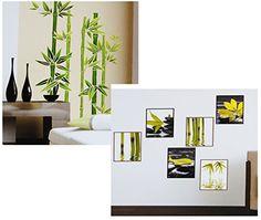 Kühlschrank- & Geschirrspüler-Aufkleber --- Bambus --- Dekor Folie ...