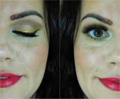 Blog Thati Maforte Tudo para Maquiagem: Maquiagem Chique para o Carnaval
