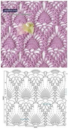 Watch This Video Beauteous Finished Make Crochet Look Like Knitting (the Waistcoat Stitch) Ideas. Amazing Make Crochet Look Like Knitting (the Waistcoat Stitch) Ideas. Filet Crochet, Beau Crochet, Crochet Motifs, Crochet Diagram, Crochet Stitches Patterns, Tunisian Crochet, Crochet Chart, Crochet Designs, Knitting Stitches