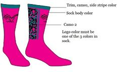 Order your digital camo custom crew socks especially designed in your colors for your team. Calf Socks, Ankle Socks, Camo Designs, 2 Logo, Custom Socks, Digital Camo, Team Uniforms, Colorful Socks, Knee High Socks