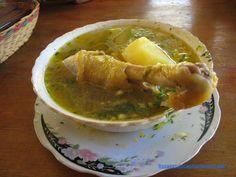 Caldo de gallina a la minuta