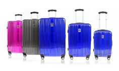 Groupon - Champs 3-Piece Hard-Sided Spinner Luggage Set in [missing {{location}} value]. Groupon deal price: C$189.99