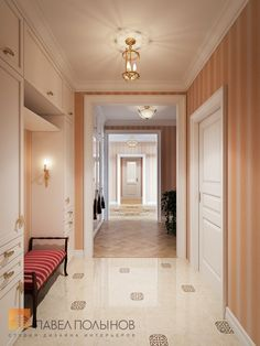 Фото: Прихожая - Квартира в классическом стиле, ЖК «Привилегия», 135 кв.м.
