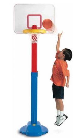 Child Size 2574: New Little Tikes Pro Adjust N Jam Basketball Set Fun And Play Toy -> BUY IT NOW ONLY: $60.97 on eBay!