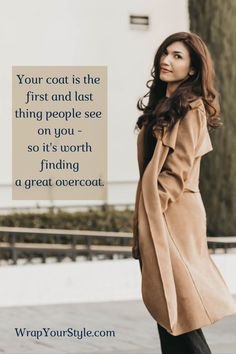 You only have 7 seconds to make an impression. In the winter that means you are depending on your coat to help do that. Your coat needs to fit properly to be fabulous front and back. Find the basics to proper fitting on my blog. #wrapyourstyle #personalstyle # #womensfashion #fashioninspiration #aboutalook #outfitinspo