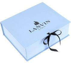 Packaging: The iconic pale blue Lanvin box is almost as covetable as what's inside.