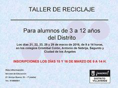 Gente de Villaverde: Taller de Reciclaje en Villaverde