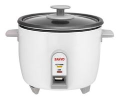 Sanyo Rice Cooker & Vegetable Steamer   Free Shipping