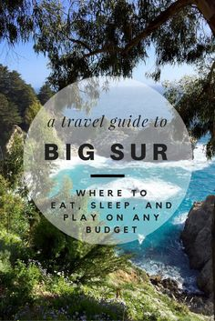 Big Sur is an incredible destination that everyone should see at least once in their life. If you're heading to Big Sur, use this travel guide to be prepared with everything you need to know! Uncover good tips to know before you leave, along with recommendations on where to eat, where to stay, and w