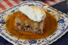 Sticky toffee pudding. Mennonite girls can cook.