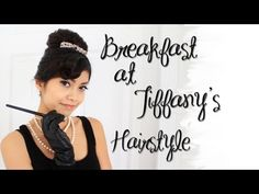 my newest obesession, this girl is AMAZING with hair styles!!     Hair Tutorial: Audrey Hepburn Breakfast at Tiffany's 60's Updo Hairstyle