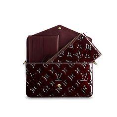 8b1f27e4c5476 Pochette Félicie - Monogram Vernis Leather - Small Leather Goods