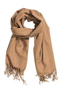 Fringed scarf   H&M
