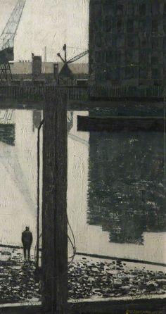 Industrial Scene by Derek Wilkinson