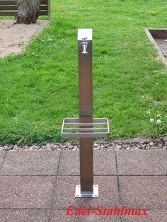 Wasserzapfstelle Verteiler Edelstahl Wasserzapfsäule Wassersäule Zapfsäule 1m in Garten & Terrasse, Bewässern, Bewässerungssysteme | eBay!