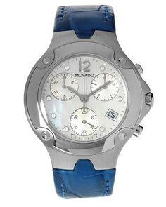 MOVADO Chronograph Swiss Movement Diamond Men's Watch