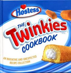Twinkie Cookbook - and yes, I own this cookbook!