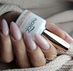 Indigo Nails, Nude Nails, Natural Looks, Manicure, Nail Designs, Nail Polish, Beauty, Fashion, Hands