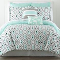 Happy Chic by Jonathan Adler Nina Comforter Set - JCPenney. Guest room