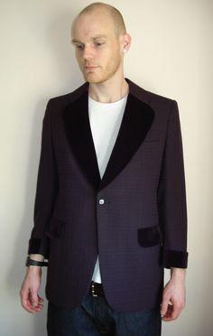 Velvet Smoking Jacket