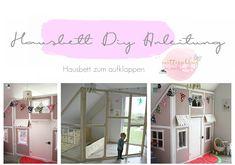 DIY – Ein Hausbett im Kinderzimmer –