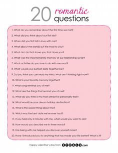 20 Romantic Questions to help while building your friendship into a relationship Date Night Questions, Fun Questions To Ask, This Or That Questions, Questions To Get To Know Someone, Couple Quiz Questions, Interesting Questions To Ask, Flirty Questions, Truth Or Dare Questions, Would You Rather Questions