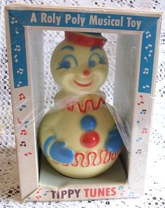 Roly Poly toys taught us that if we tip something, it will always spring back up! ;) Roly Poly Clown, Tippy Tunes, MIB! Little Angel | eBay