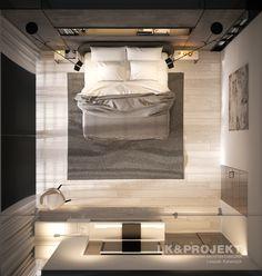 LK&1230 - wizualizacja sypialni, więcej: http://lk-projekt.pl/lkand1230-produkt-9548.html