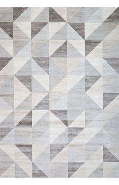 Abacasa 7148-8x10 Sonoma Colburn Silver-Grey/Med. Grey/White Area Rug