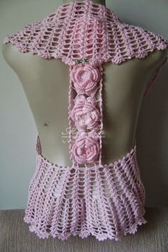 Graphics and Crochet - Bolero Back