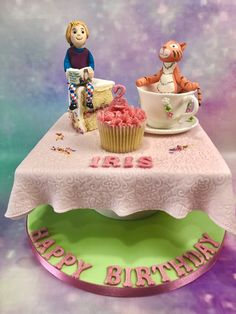 The Tiger who came to tea - cake - June 2020 Cake Business, Cake Makers, Novelty Cakes, Tea Cakes, Homemade Cakes, June, Birthday Cake, Desserts, Food