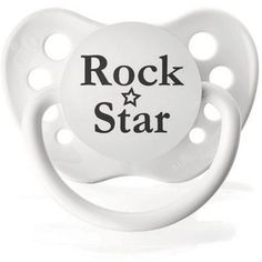 Rock And Roll Baby Gifts - Rock Star Pacifier