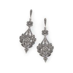 Lucky Brand Marcasite Chandelier Earring (710 UAH) ❤ liked on ...