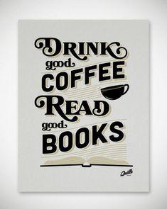 Tomar un café bueno leer buenos libros